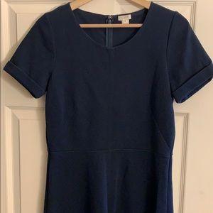 Navy J. Crew short sleeve dress